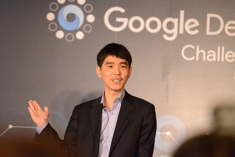 Lee Sedol, the grandmaster of Go.