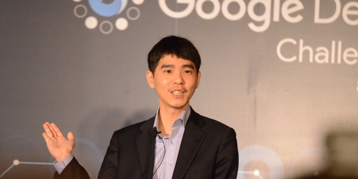 Lee Sedol, the grandmaster of Go.