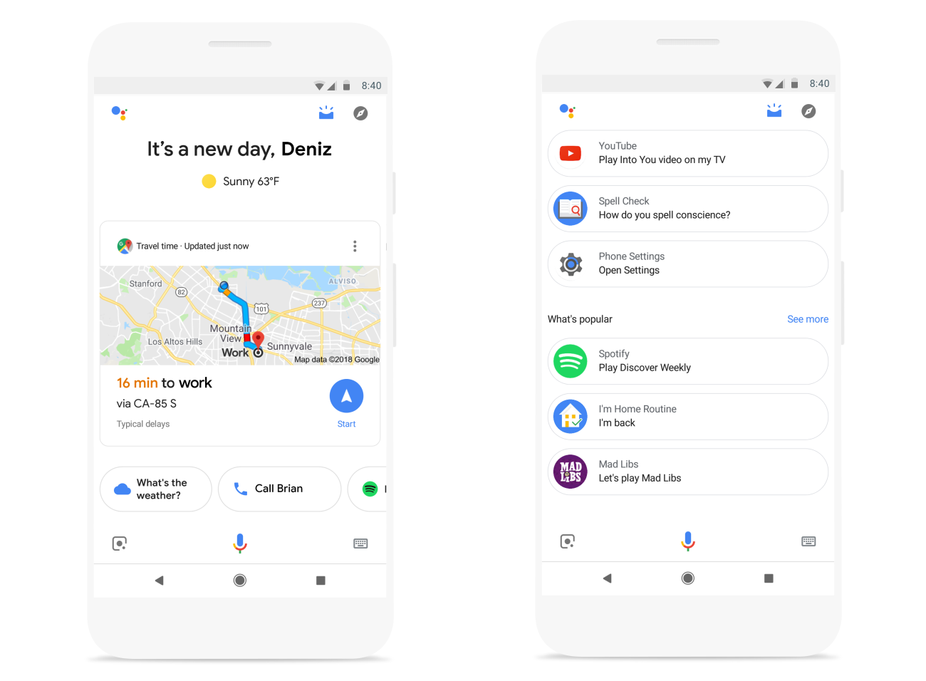 Google Assistant now serves up a visual snapshot of your