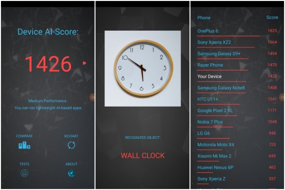 AI Benchmark app