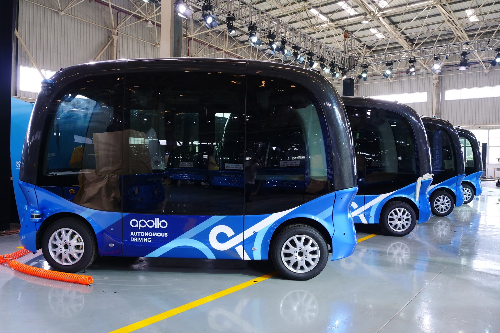 Baidu's self-driving bus begins mass production