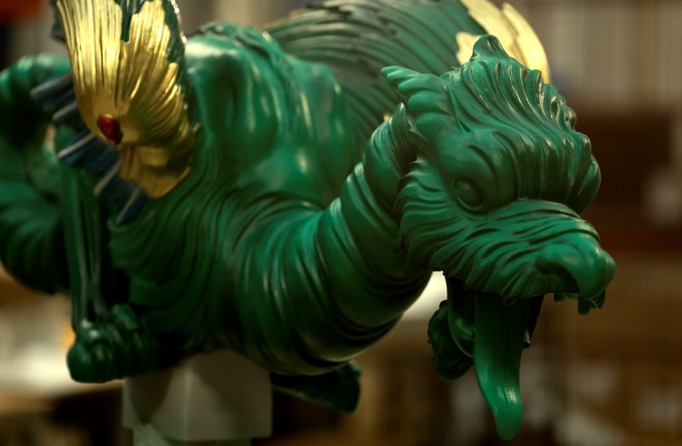 3D Systems restored the old dragons of the Kew Gardens.