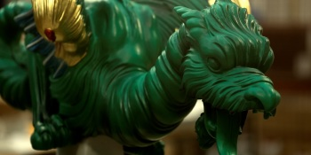 3D printers bring 250-year-old dragon sculptures back to life