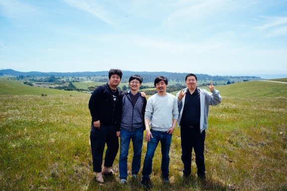 Nervos founders left to right: Terry Tai, Jan Xie, Kevin Wang, Daniel Lv.