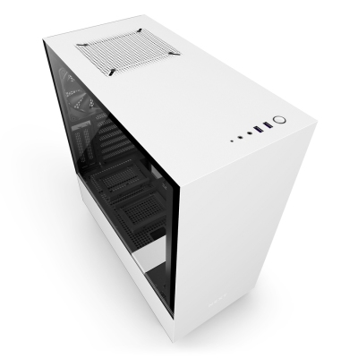 The NZXT H500i PC case makes it easy to look pretty