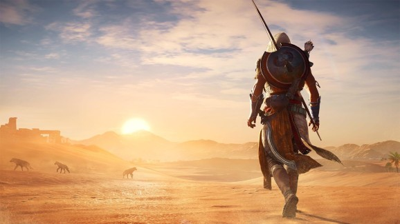 The art of Assassin's Creed: Origins.