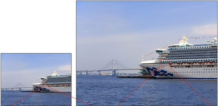 Sony's IMX586 captures considerably larger and more detailed images than prior-generation smartphone cameras.