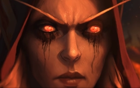 Sylvanas looks evil and ... well, she is.
