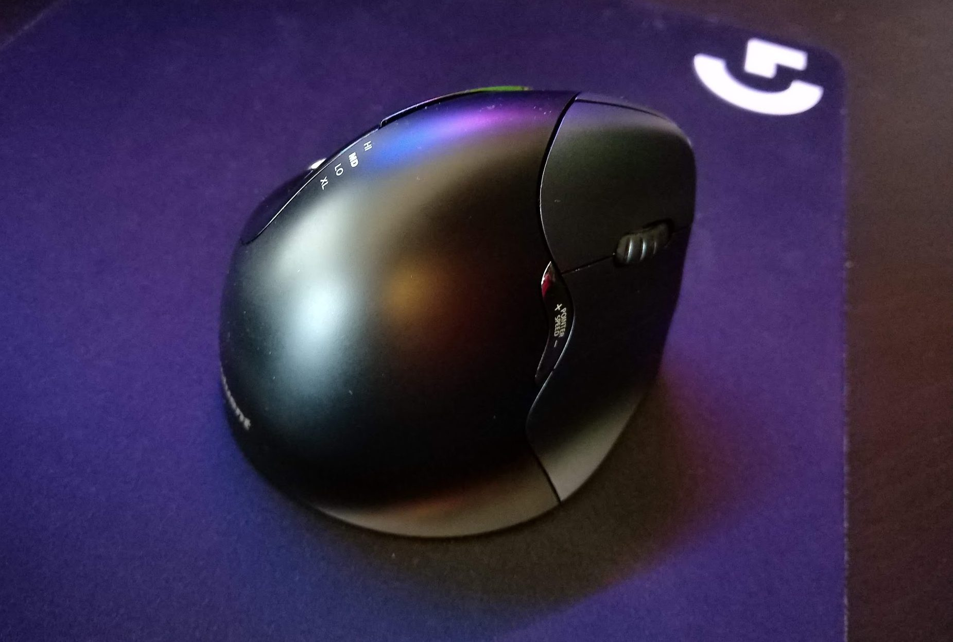 photo image Evoluent's VerticalMouse 4 has everything you need without the twist