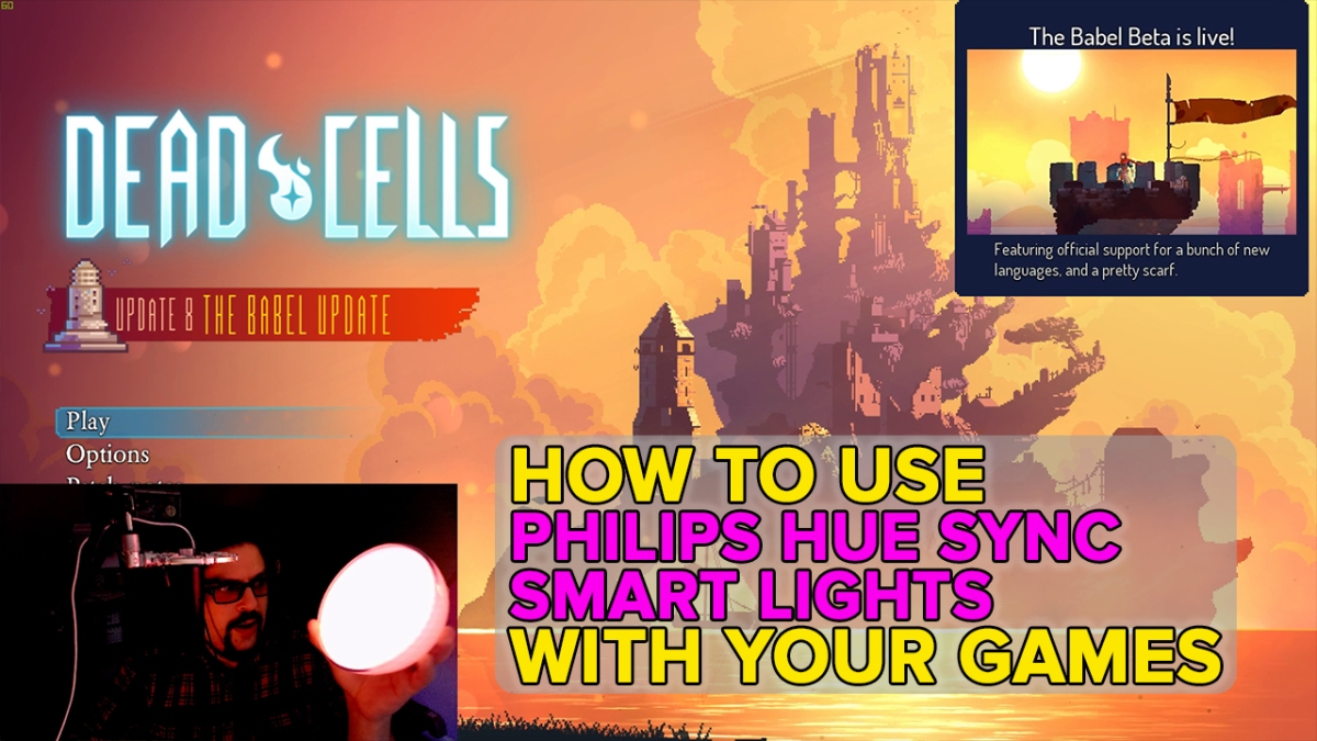 Syncing games with Philips Hue smart lights gives your home