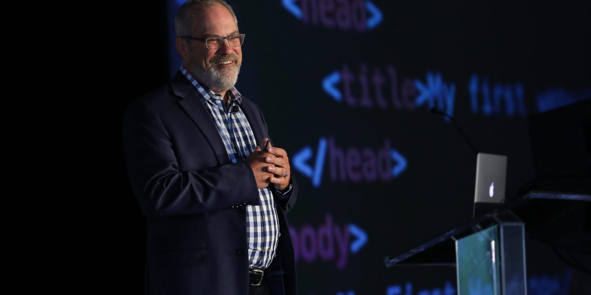 Google VP Scott Huffman onstage at Transform, a VentureBeat event being held Aug. 21-22 in Mill Valley, Calif.