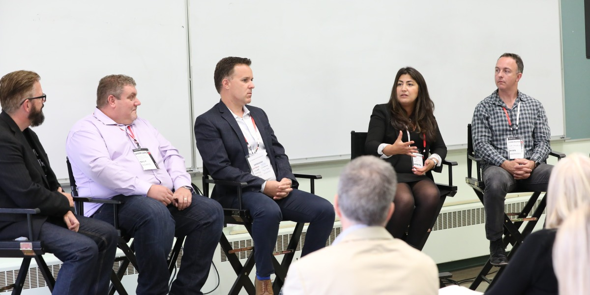 Ryan Eberhard, vice president of product at ZipRecruiter; Armita Peymandoust, vice president of product management at Salesforce; Tim Correia, senior vice president and general manager at Trulia; and Olly Downs, founder and chief scientist of Amplero, about AI's role in product recommendations.