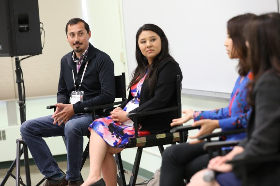 Monica O'Hara, Head of Acquisition & Growth at Lyft; Gina Michnowicz, CEO & Executive Creative Director at The Craftsman Agency and Fang Cheng, CEO of Linc Global