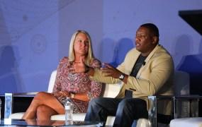Christi Putman, Associate Director Research & Development, Damon Frost, Director-Beauty CIO, at Procter & Gamble