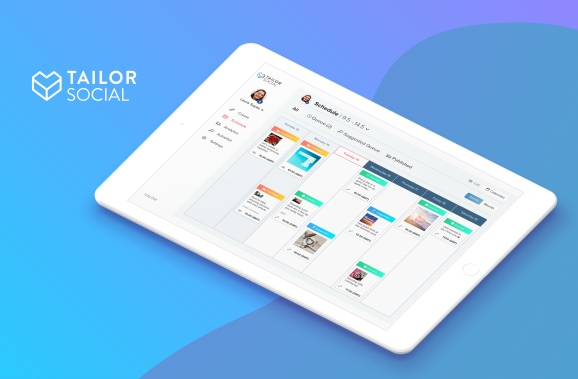 Tailor Social from Tailor Brands