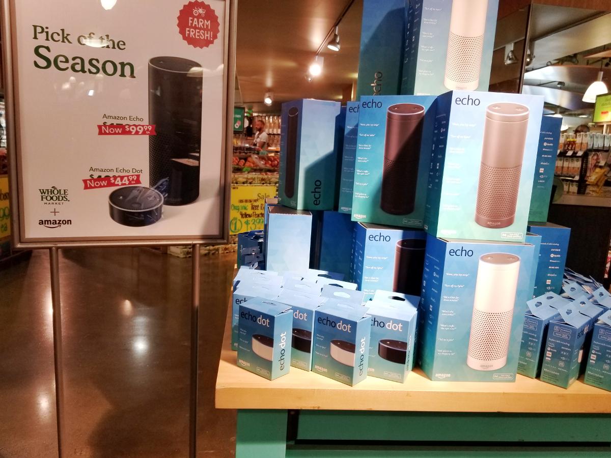 Amazon Brings Whole Foods Voice Shopping to Alexa