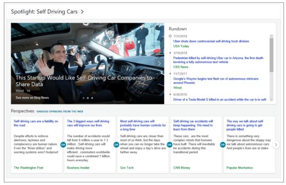 Bing Spotlight