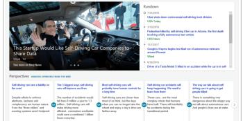 Bing Spotlight uses AI to highlight developing news stories