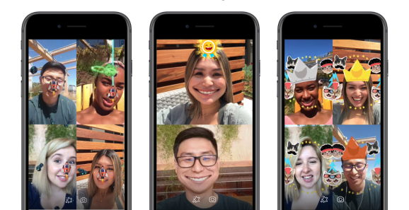 Facebook Messenger augmented reality games