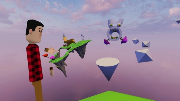 Altspace VR lets you build your own world in VR.