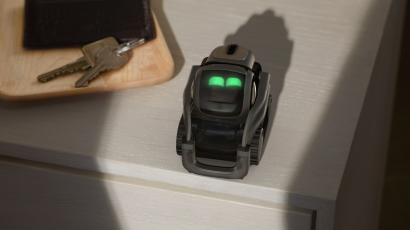 Anki's Vector is a robot companion that fits in the palm of your hand
