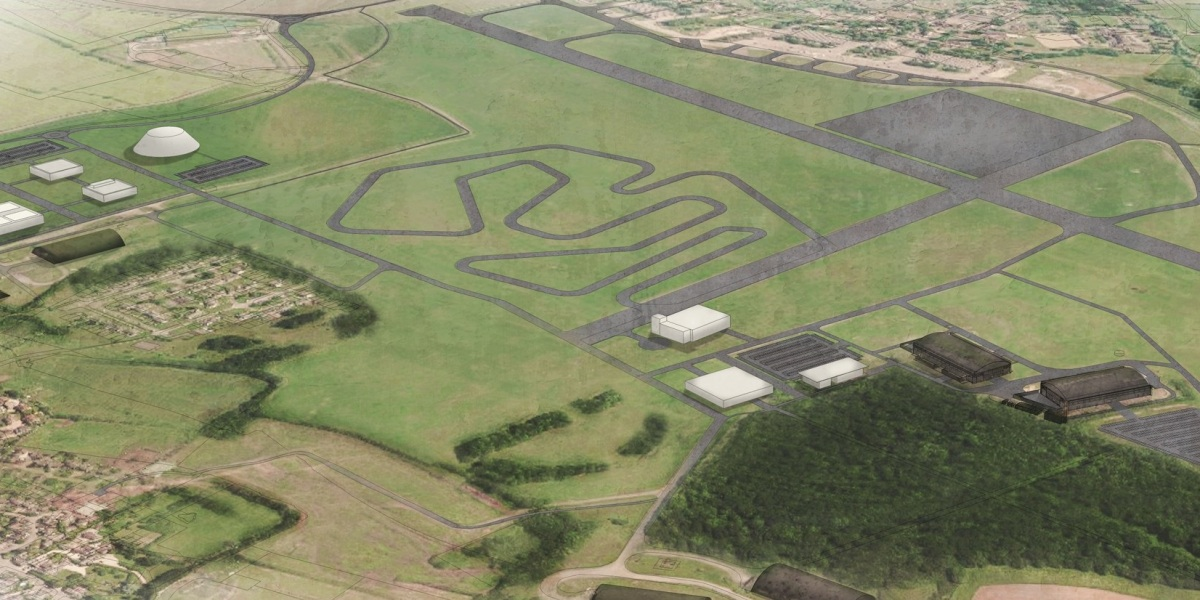 Dyson wants to transform its Hullavington airfield into a test track for electric vehicles