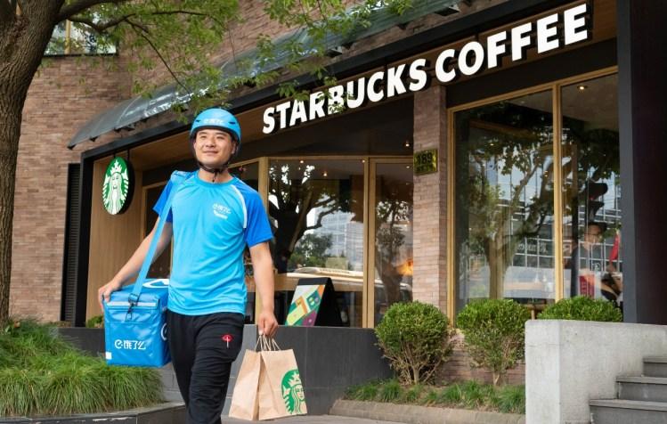 Starbucks and Alibaba's Ele.me