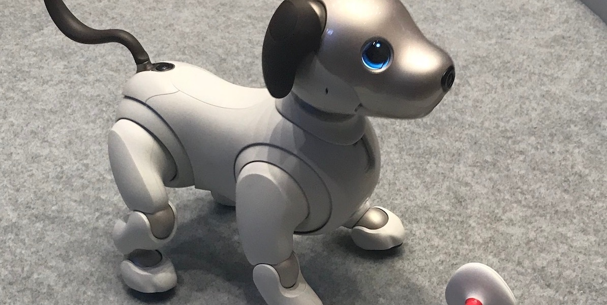 The new-and-improved Aibo.