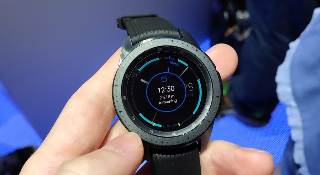Samsung debuts Galaxy Watch with improved battery and health