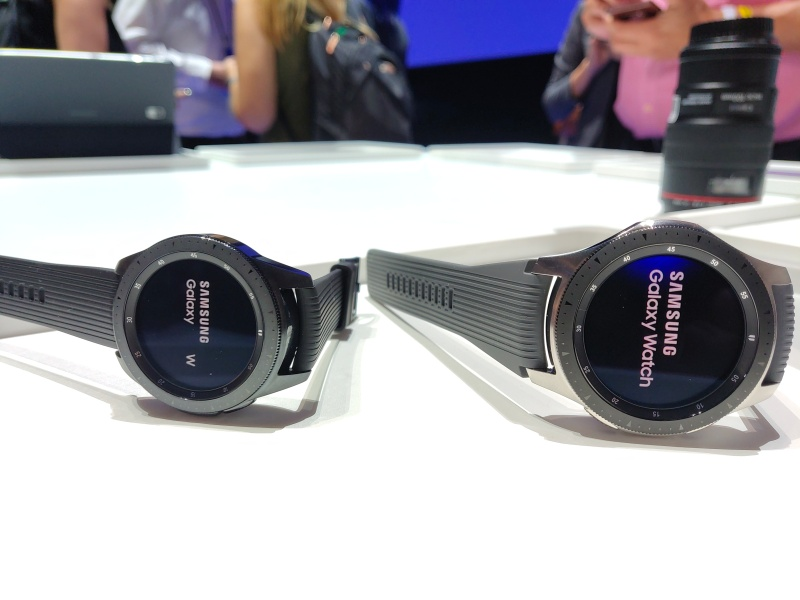 Samsung Debuts Galaxy Watch With Improved Battery And