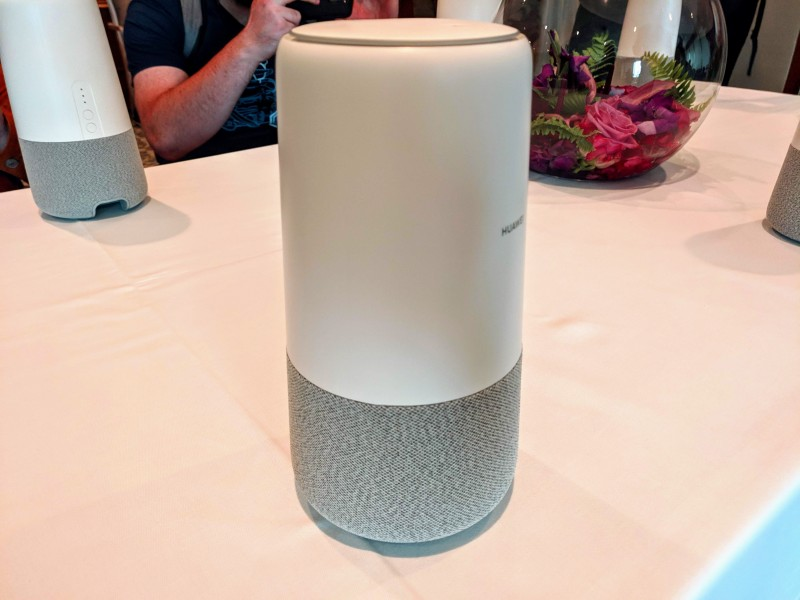 Huawei's first smart speaker is the AI Cube, with Alexa and built-in