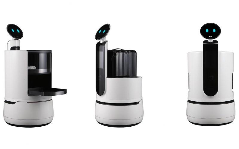 LG's CLOi concept robots.