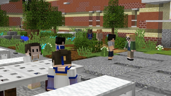 Re-create 90210 with Minecraft ... all of you are too young to know what that is.