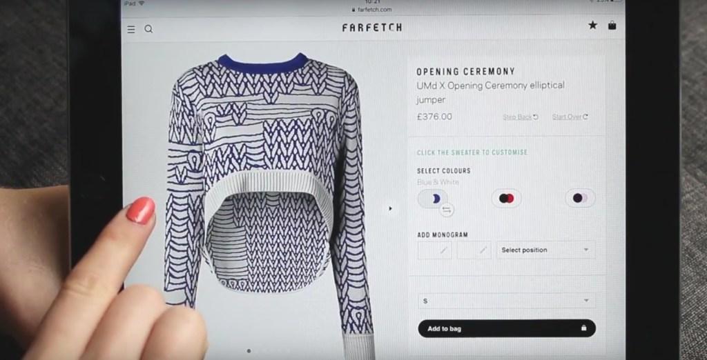UnmadeCustomizing a sweater
