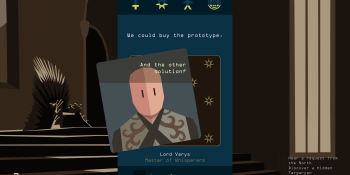 Reigns: Game of Thrones will launch in October on PC, iOS, and Android