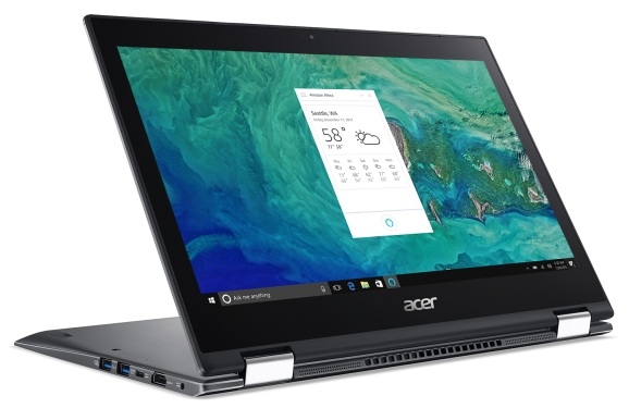 Acer Spin 5 with Alexa