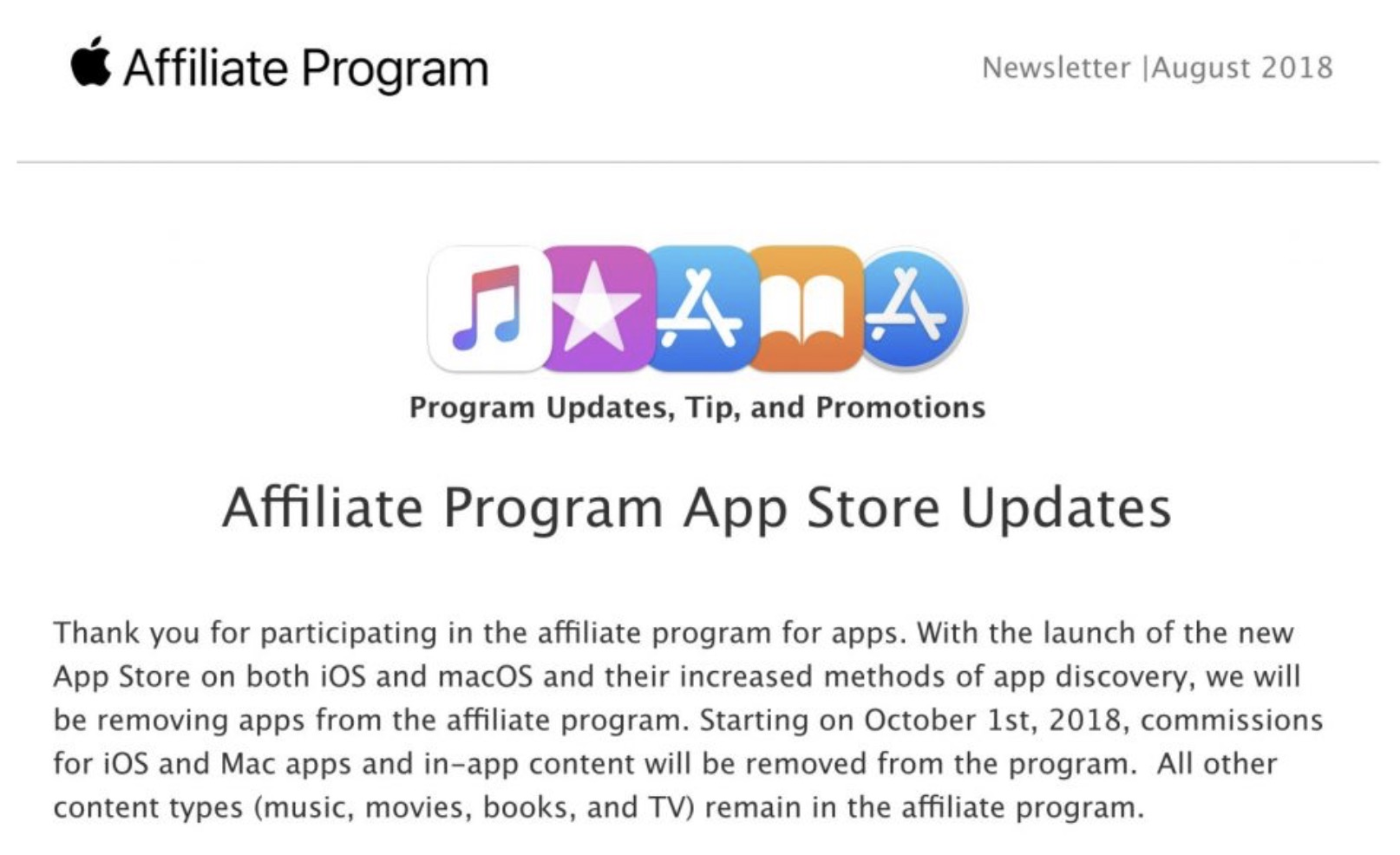 Apple kills app affiliate commissions, imperiling small publishers