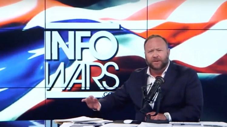 Alex Jones of Infowars.