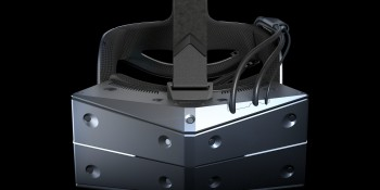 The StarVR One headset.