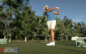 A golfer in The Golf Club 2019 Featuring PGA Tour