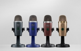 The Yeti Nano in four different color configurations.