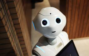Pepper the robot from Softbank Robotics