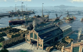 Anno 1800 is about the age of industrialization.