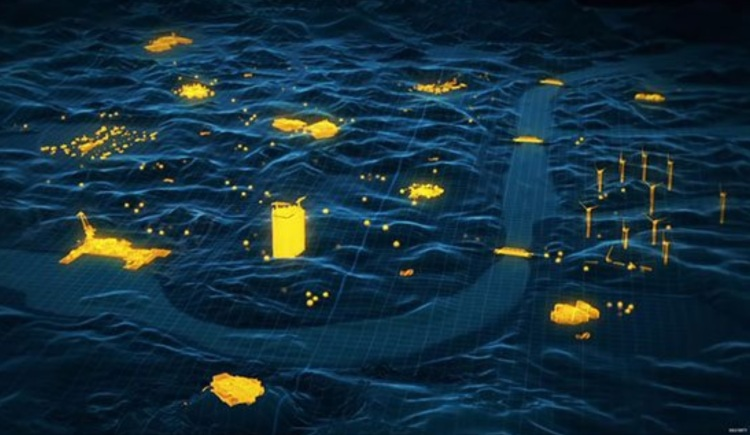Blackout map in l