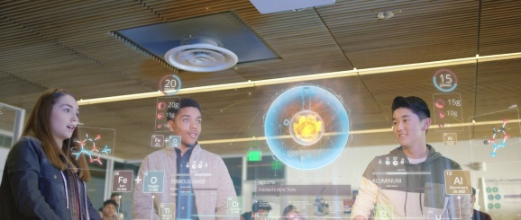 CableLabs shows off a vision of the augmented reality future.