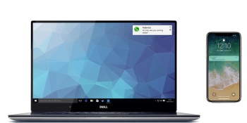Dell Mobile Connect will integrate all iOS app notifications on both smartphone and PC