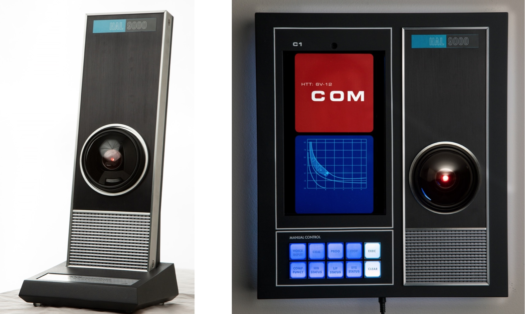 This HAL 9000 replica with Amazon Alexa support totally won't try to murder you or anything
