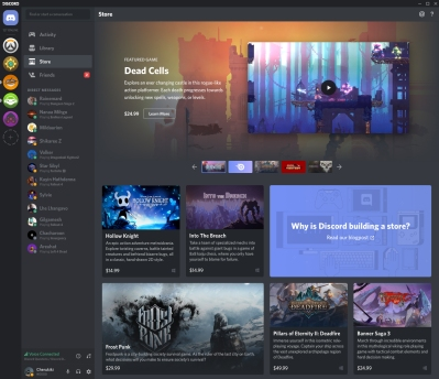 Discord adds games to its Nitro subscription service and
