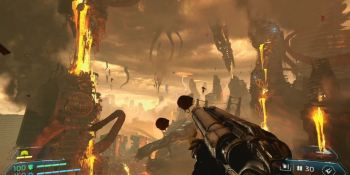 Doom Eternal gameplay reveals grappling hook action and more