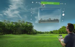 Epson shows off AR piloting for dones. Well, it doesn't quite look like this.